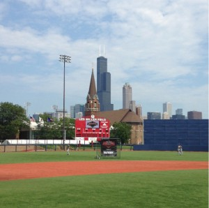University of Illinois Chicago's Les Miller Field at Curtis Granderson Stadium